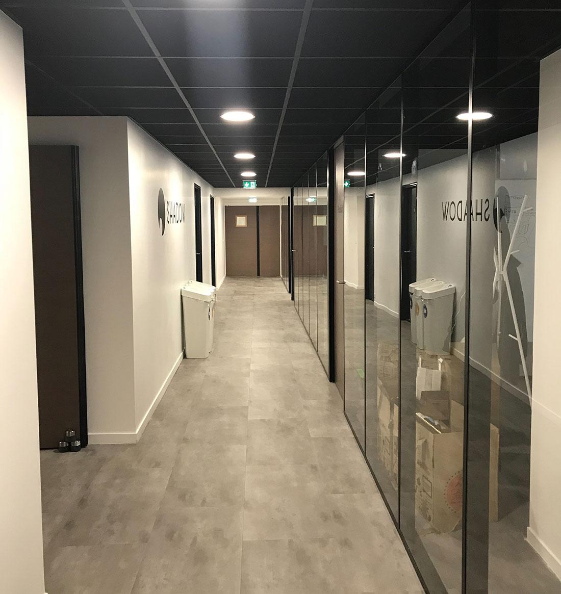 Présentation des bureaux de notre client Blade