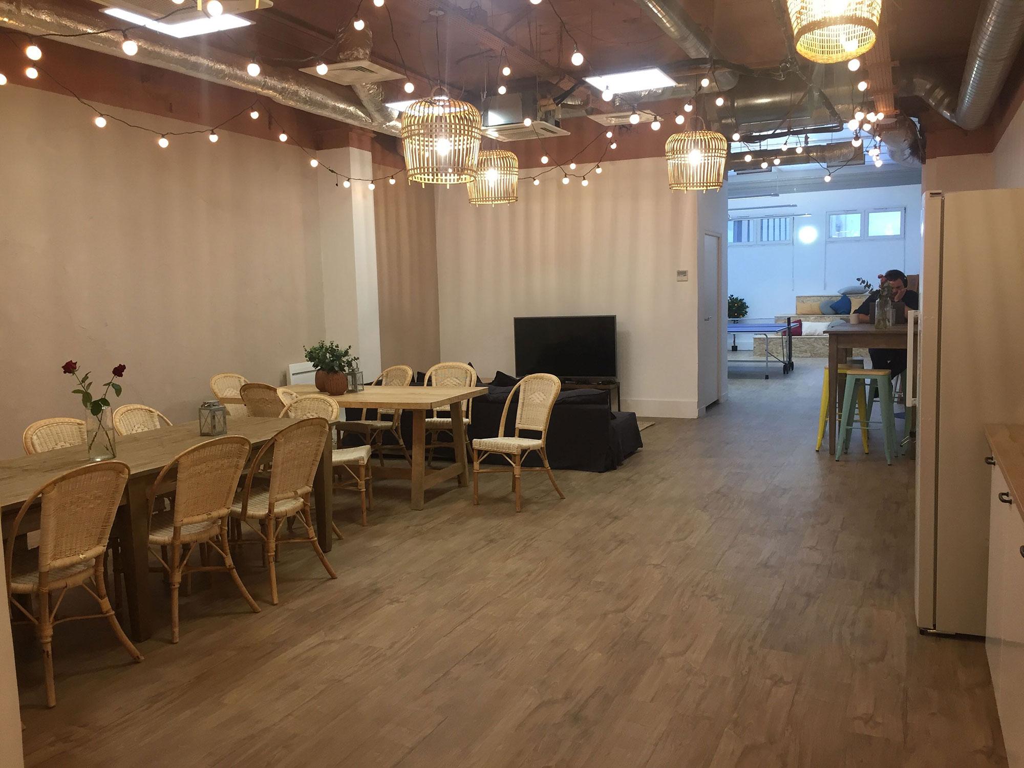 Cafétéria bureaux Stuart