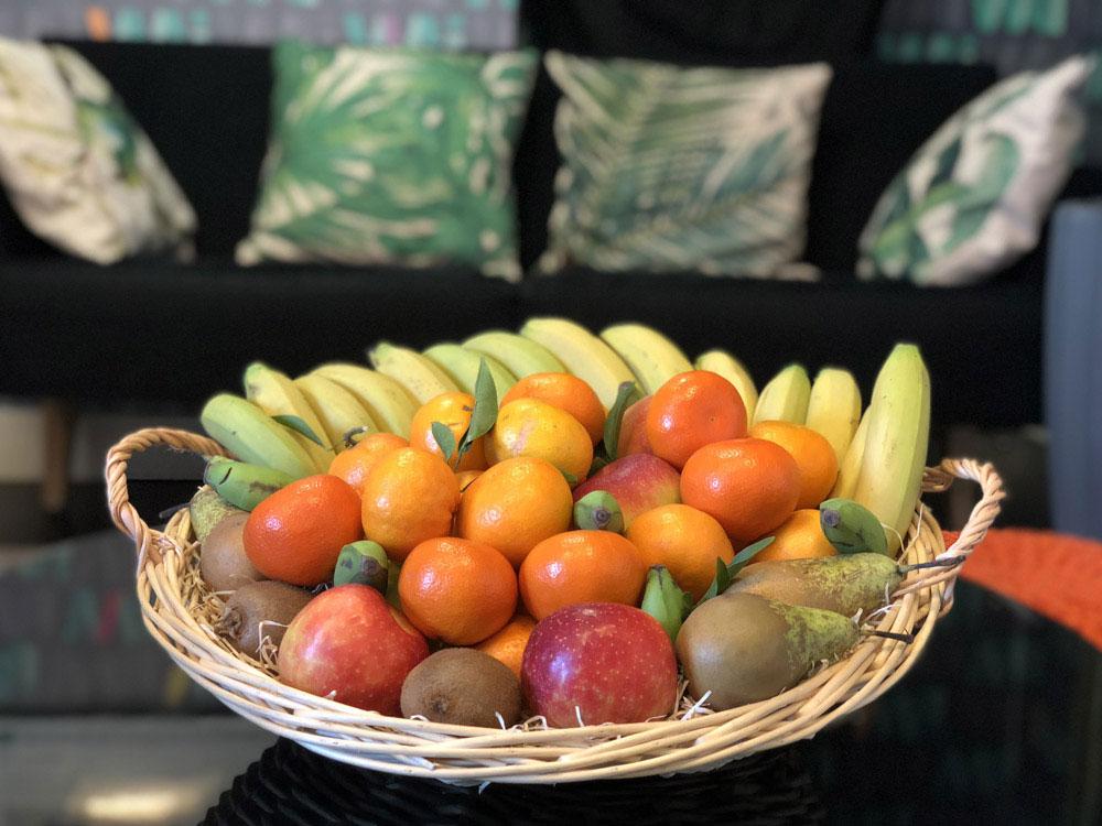 Livraison de fruits frais au bureau