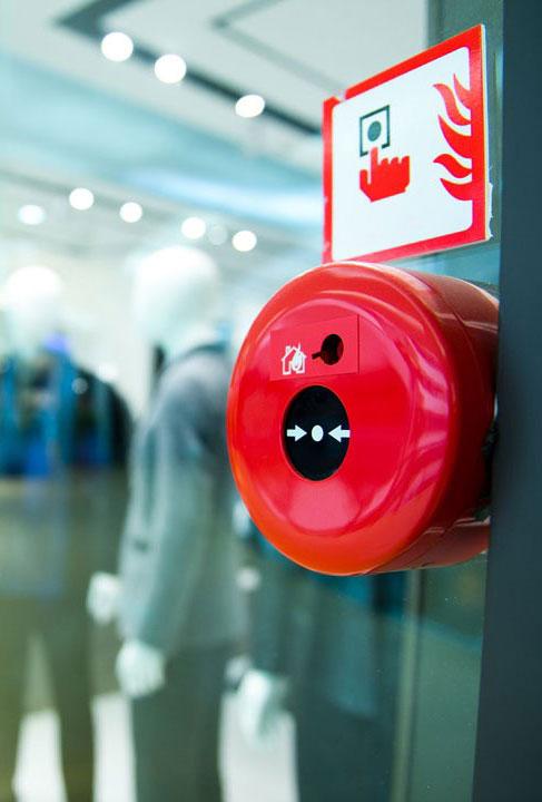 Installation et maintenance d'extincteurs