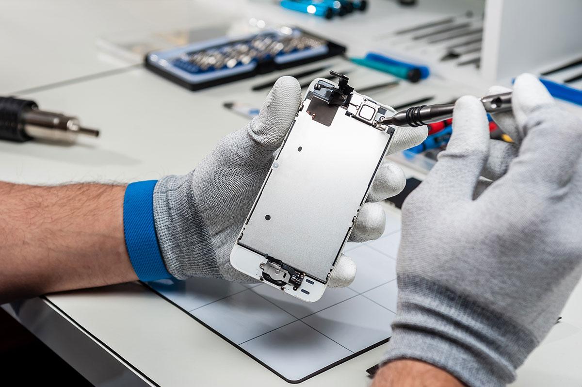 Réparation de smartphone pour votre flotte professionnelle