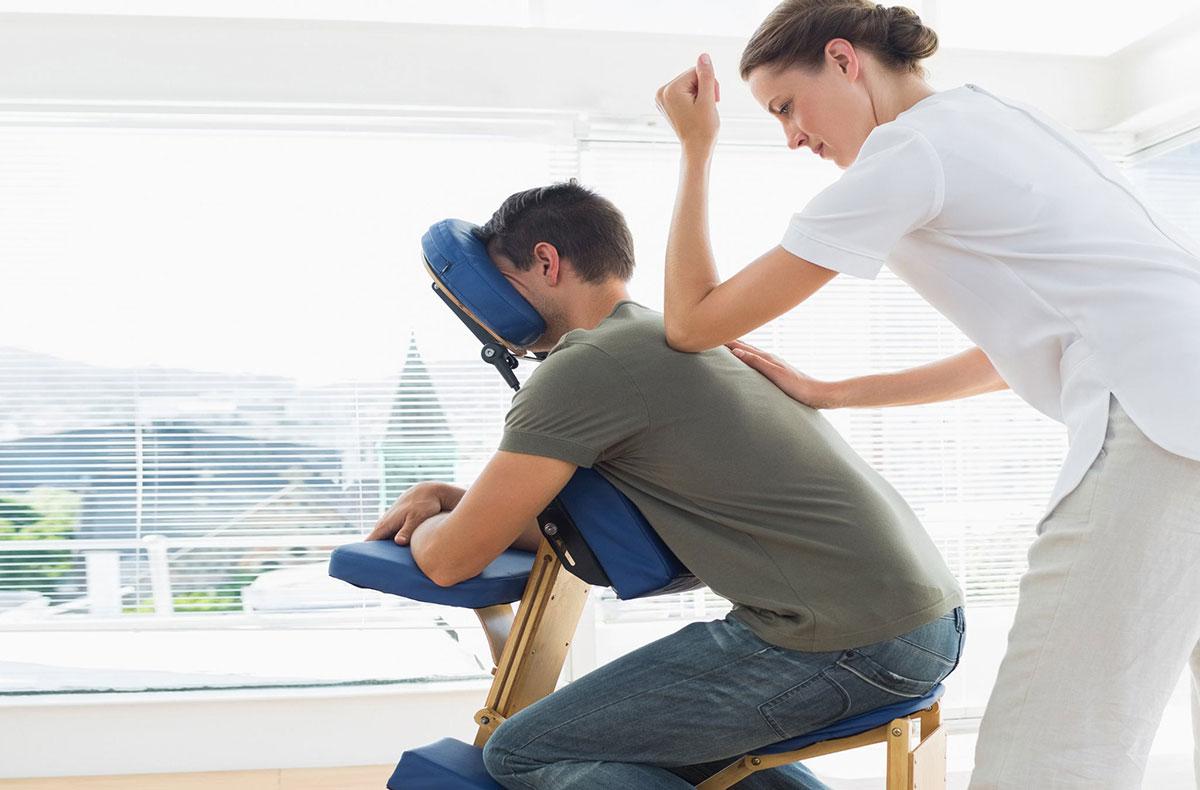 Séances de massages en entreprise