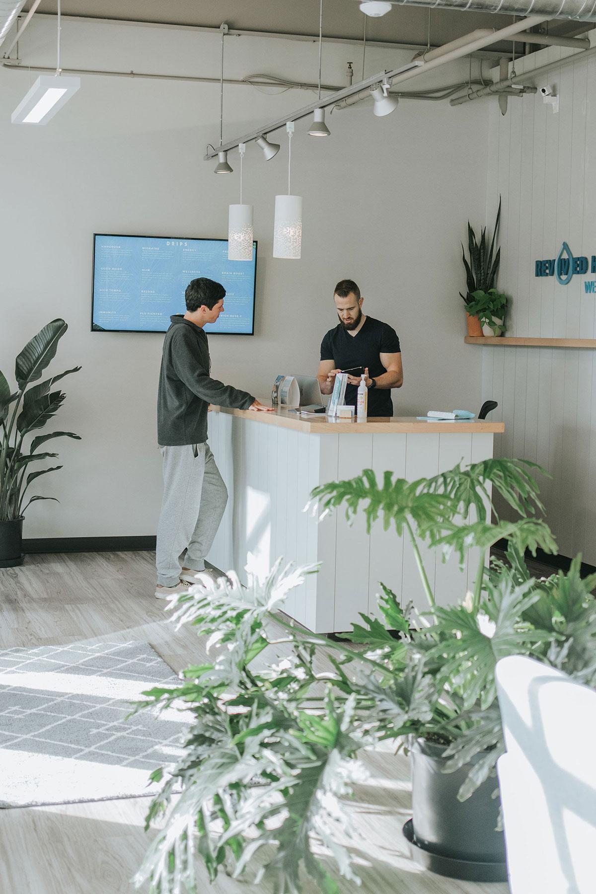 Mise en place d'espaces d'accueil pour entreprises